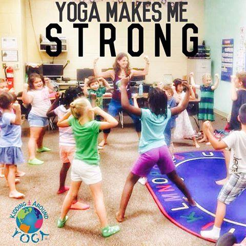 kidding around yoga live training